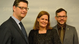 Nancy Faeser, Thorsten Schäfer-Gümbel, Michael Roth
